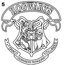 Ravenclaw Crest Coloring Pages Homesecuritylaorg