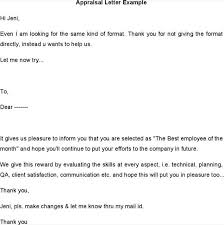 appraisal letter download appraisal letter template example for free tidytemplates