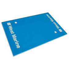 3 layer blue water carpet