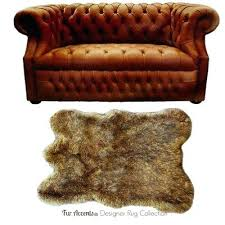 wolf skin rug fake faux with head uk
