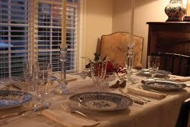 dining table elegant restaurant setting