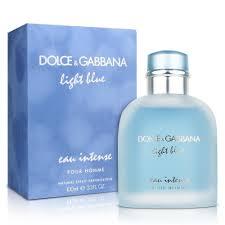 Dolce Gabbana Light Blue 1 6 Oz Dolce Gabbana Light Blue Eau Intense 3 3 Oz Eau De Parfum