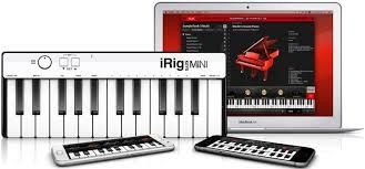 <b>IK Multimedia iRig</b> Keys Mini – универсальный 25-клавишный <b>MIDI</b> ...