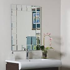 modern bathroom mirrors. Decor Wonderland Montreal Modern Bathroom Mirror Mirrors
