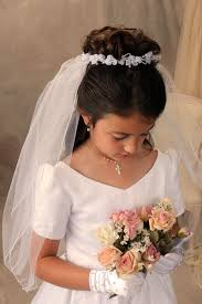 First Communion Hairstyles 52 Inspiration 24 Best Communion Wreaths Images On Pinterest Holy Communion
