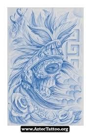 Aztec Tattoo Patterns Fascinating Steve Soto Aztec Tattoo 48 Httpaztectattooorgstevesotoaztec