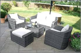 ideas gray wicker outdoor furniture and patio