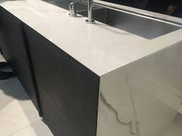 view in gallery a waterfall countertop