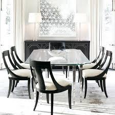 black glass dining table set medium size of dining room large glass dining room table black