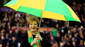 Norwich's Delia Smith urges UK PM Johnson to allow safe return of fans -  Eurosport