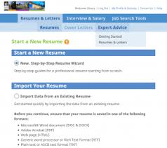 Prepare For A Job Search With Resume Builder King County Library