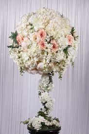 1 3m white flower ball real touch flower arrangement