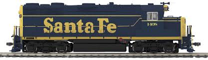 Santa Fe GP-35 Diesel Engine with Protosounds 3.0: Kirkland Model ...