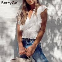 Tops - Shop Cheap Tops from China Tops Suppliers at BerryGo ...