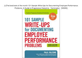 Employee Of The Month Write Ups The Best Book Of The Month 101 Sample Write Ups For