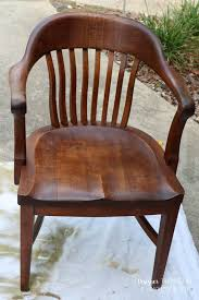 wooden chair. learn how to refinish wood chairs without sanding or stripping the existing wooden chair