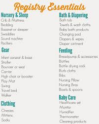 list of items needed for baby list of baby shower gifts wblqual com