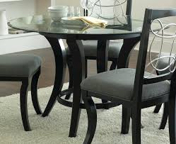 round table top glass dining room gorgeous round glass dining room sets image gallery round glass