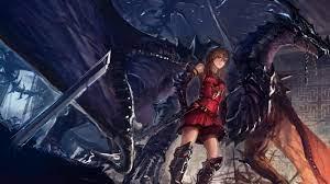 Anime Warrior Wallpaper, Anime Female ...