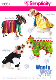 Simplicity Dog Patterns Custom Inspiration Design
