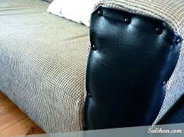 how to repair leather fix scratches on couch from dog scratched sofa dashboard chair arm car