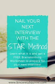 Star Questions Answer Behavioral Interview Questions With The Star Method