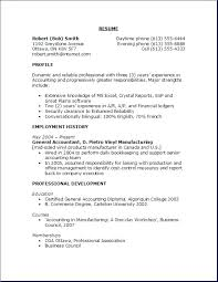 Resume Objective General Amazing Good Resume Objective Examples Davidkarlsson