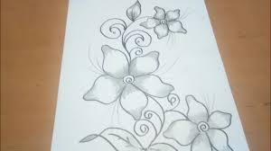 Ribuan ide kain batik motif bunga kecil yang dapat digunakan. Sketsa Bunga Batik Cantik 2 Youtube