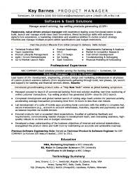 Product Manager Resume Samples Awesome 44 Product Manager Resume Qtickles
