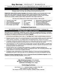 Marketing Manager Resume Samples Fascinating Product Manager Resume Samples Awesome 48 Product Manager Resume