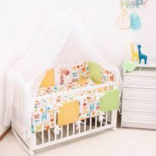 <b>Комплекты в кроватку</b> для новорожденных ТМ Крошкин дом