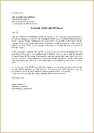 raise salary letter best ideas of raise salary letter salary negotiation letter salary