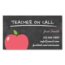 301 Best Teacher Business Cards Images In 2019 Teacher