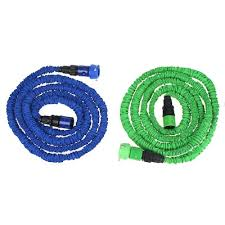 25ft ultralight flexible 3x expandable garden magic water hose pipe faucet connector fast connector