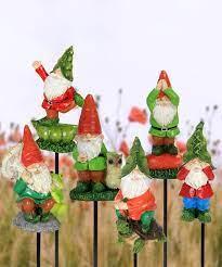 exhart gnome garden stake set best