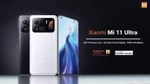 """شاومي تطلق الهاتف الراقي """"Mi 11 Ultra"""" رسميا مع شاشة مصغرة في الخلف و  مواصفات فائقة !"""