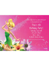 Tinkerbell Invitation Tinkerbell Personalized Invitation Cheap Personalized