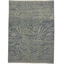 modern turkish rug with transitional style light blue abstract rug for