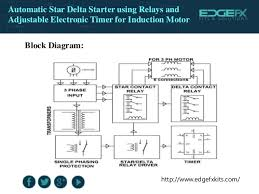 automatic star delta starter using relays and adjustable electronic t 4 edgefxkits com automatic star delta
