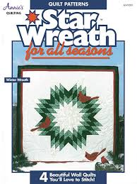 Seasonal Quilt Patterns & Star Wreath for All Seasons Adamdwight.com