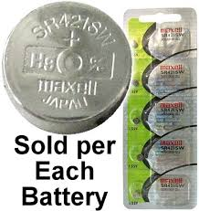 Maxell Watch Battery Conversion Chart Maxell Hologram Sr421sw 348 Silver Oxide Watch Battery On
