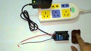 How To Make Remote Control Light Switch Dc Power Out Set 1 Channel Rf Wireless Remote Control Relay