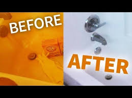 how to remove rust from your bathroom easy way