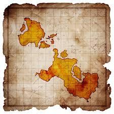 blank pirate treasure map vinyl wall mural backgrounds