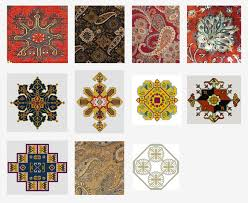 persian rug motifs