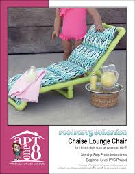 cpvc plans pool party collection chaise lounge chair pdf