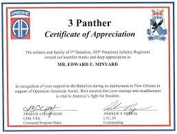 Appreciation Certificates Wording Thanks Certificate Format