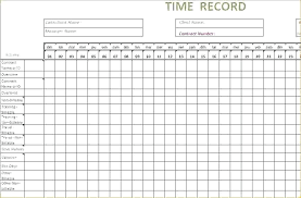 Monthly Time Card Template How To Make A Timecard In Excel Adobe Word Doc Semi Monthly Time
