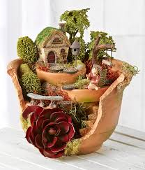 fairy garden broken pot joann fairy garden pots