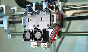 dual extrusion is when you print with multiple filaments or materials with a print head that has two extruders you can mix colours